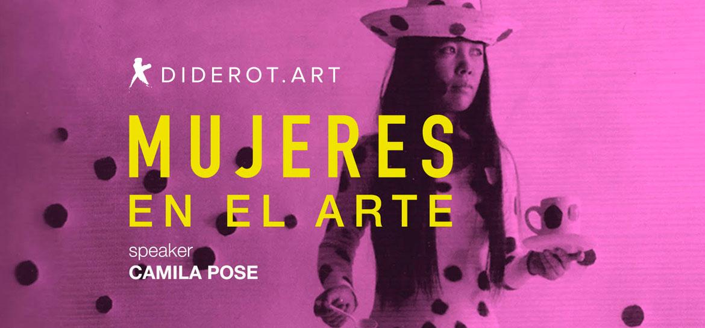 Charla mujeres en el arte