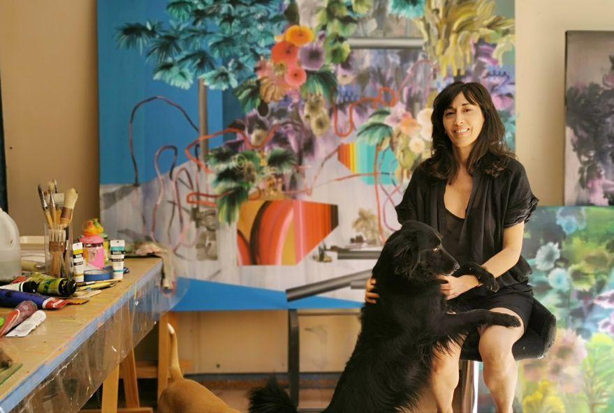 Magda Rantica, artista mexicana
