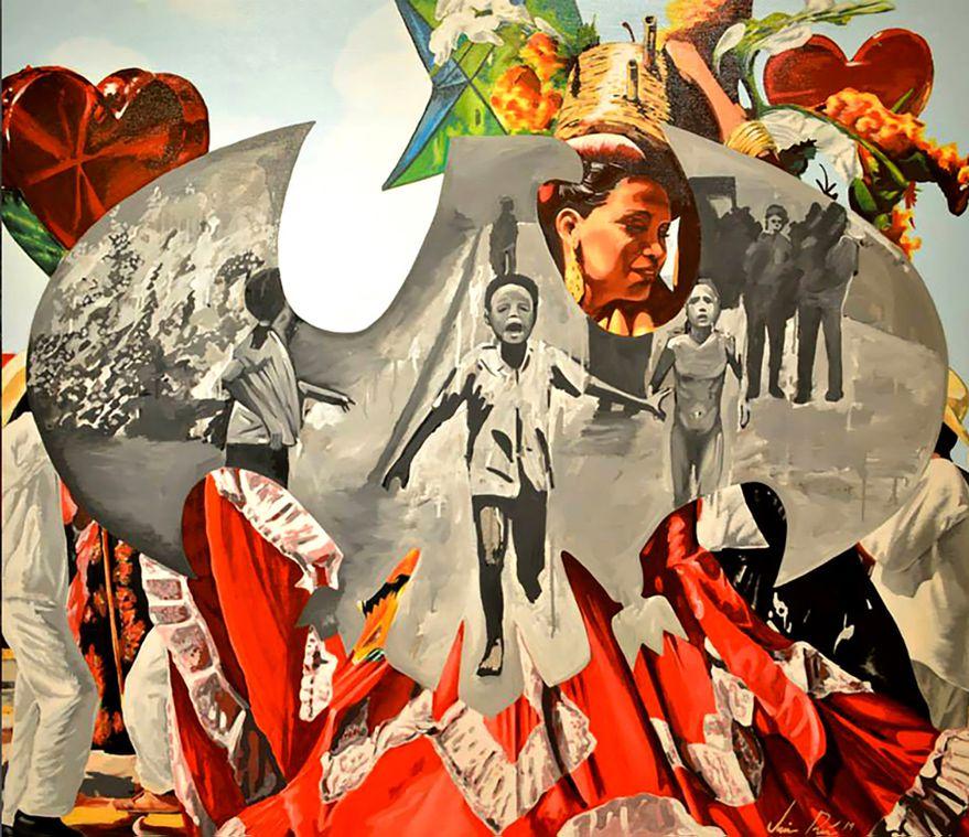 Quimeras, pintura de Jaime Ruiz